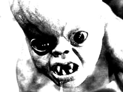 映画「悪魔の赤ちゃん」のイメージ画像です。