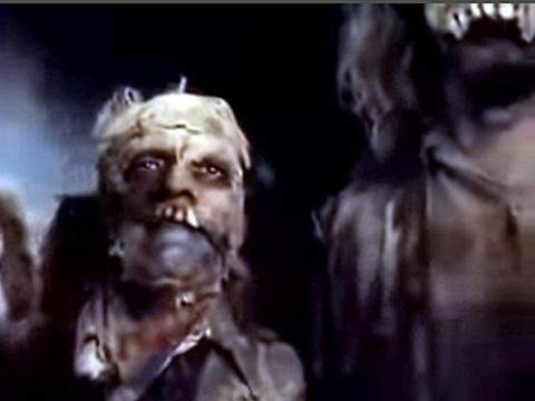 映画「ゴゲリアン 墓場のえじき」のゾンビ