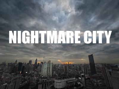 映画「ナイトメア、シティ」のイメージ画像。