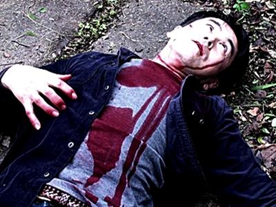 オリジナルホラー映画「屍池の切り裂き男 完全版」のイメージ画像です。