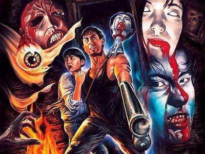 「地獄の血みどろマッスルビルダー」北米版イメージ画像