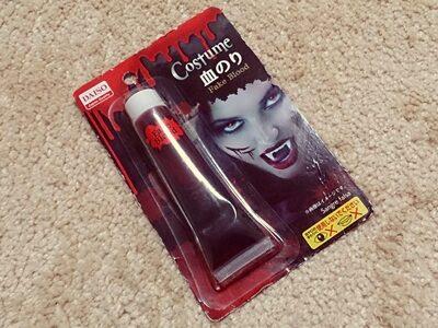 「ダイソーの血のりを映画で使ってみた!」実際の商品画像